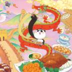 福島工業さまのカレンダーイラストを担当「食と世界遺産」がテーマです