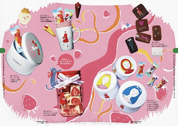 阪急カタログ「チョコのワンダーランド」P3-4